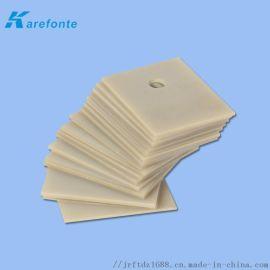 氮化铝陶瓷片导热绝缘片MOS三极管IGBT散热垫片