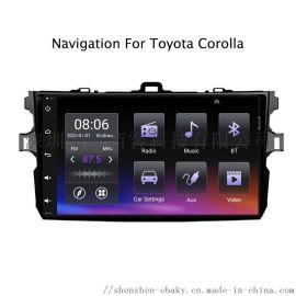 车载GPS导航适用于丰田卡罗拉