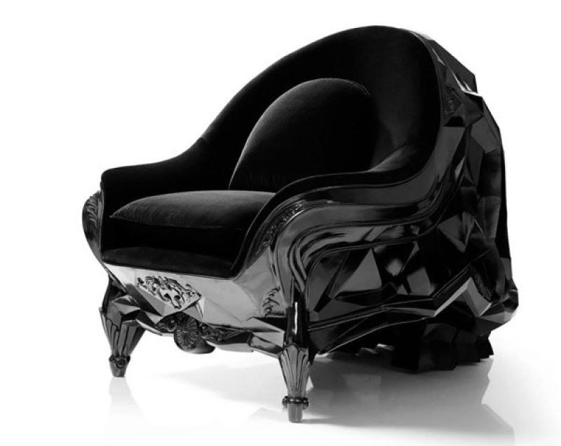 玻璃钢  动物雕塑   个性休闲椅  骷髅头沙发