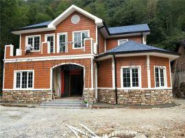 抗风轻型钢结构别墅生产厂家,农村自建民宿房屋