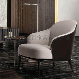 厂家直销沙发椅 布艺沙发 定制休闲单人沙发椅
