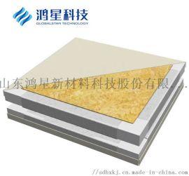 洁净空间机制板-岩棉净化板