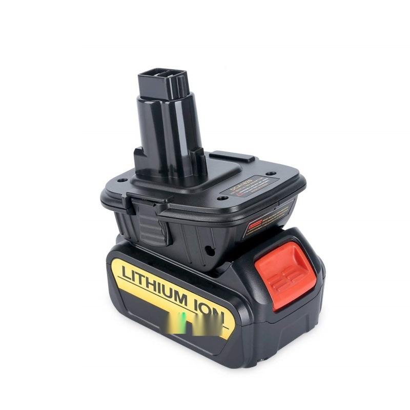 适用于得伟电动工具电池转换器适配器DCA1820