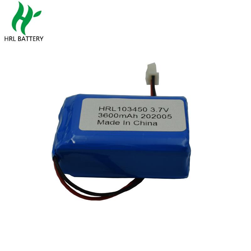 103450 3600mah3.7V空气净化器电池
