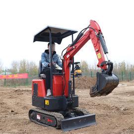 22多功能迷你小型挖掘机 山地开荒小型挖土机