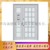 厂家定制楼宇单元门 小区对讲门 楼道门 质量可靠