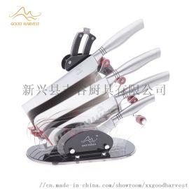豐谷廚具銀龍系列刀具6件套