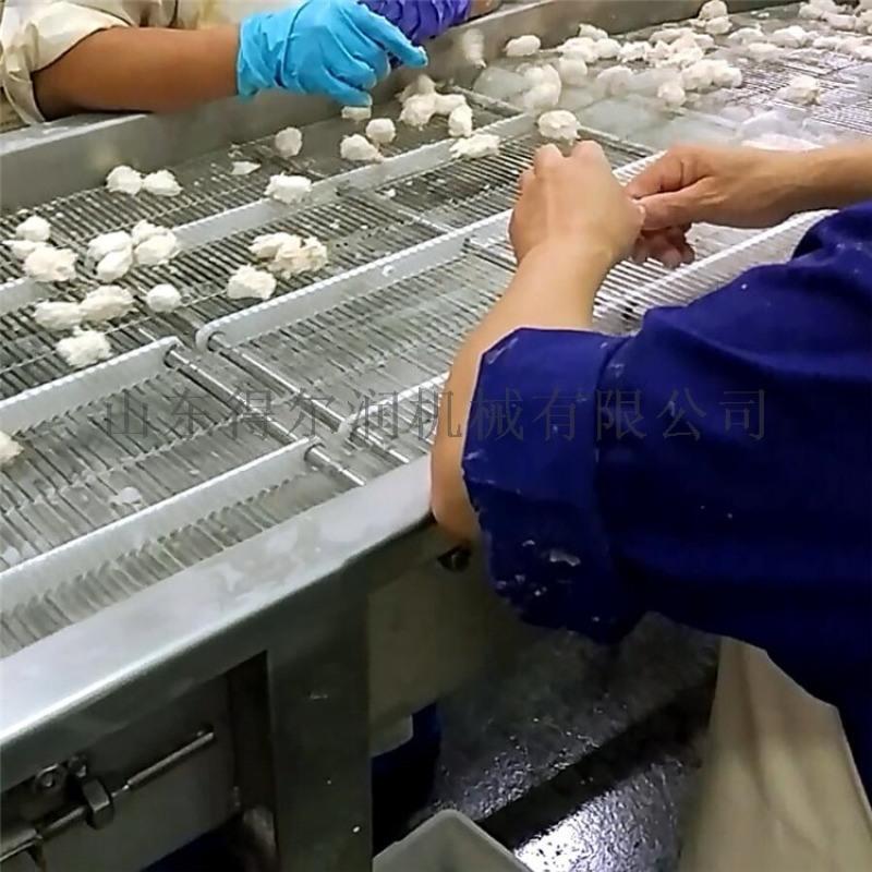 2020年市场热销的鸡米花上浆上粉加工设备