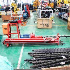 分体式潜孔钻机开山钻 电气两用矿用电动钻机