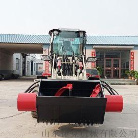 搅拌斗铲车 混凝土双马达液压型搅拌斗装载机 捷克