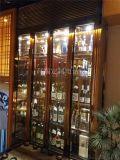 不锈钢金属材质的酒柜