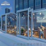 SUNSHIELD阳光房餐厅 智能伸缩阳光房