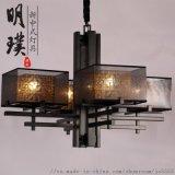 新中式吊灯 全铜新中式吊灯 酒店全铜新中式吊灯