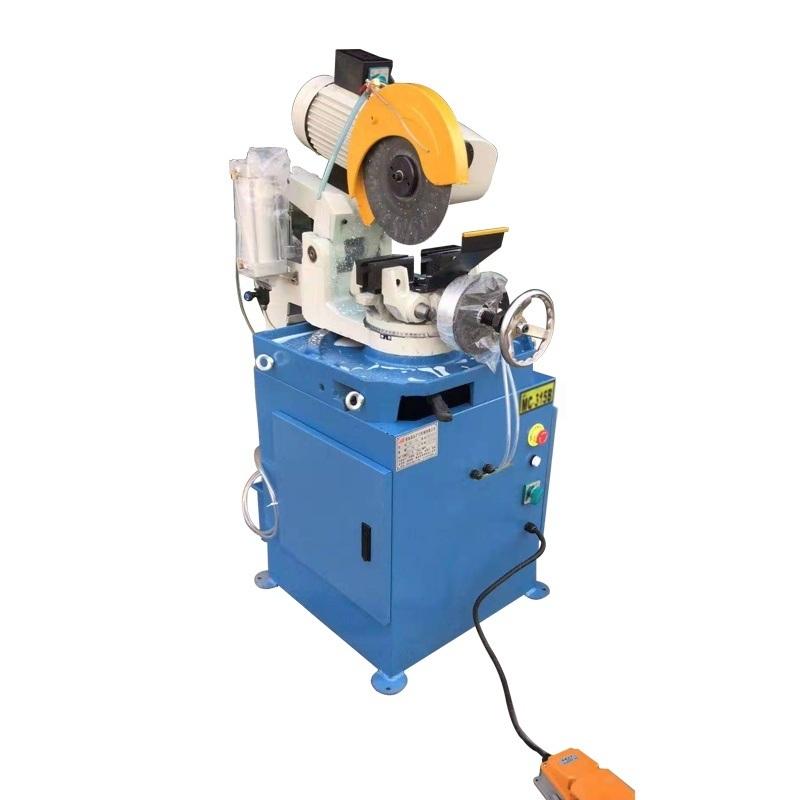 NC315手動切管機送料手動切割鋼管金屬切管機