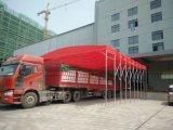 成都廠家直銷定製伸縮活動推拉雨篷