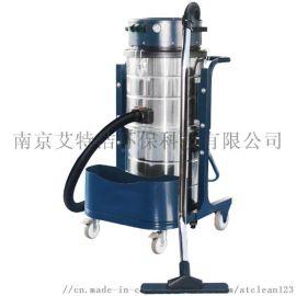 喷塑厂地面清洁工业用吸灰机铁屑油污工业吸尘器