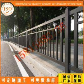 广州市政道路防护栏杆生产厂家 人行道甲型护栏现货供应