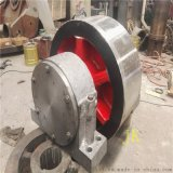 2.4米鑄鋼耐磨性好通用性強的烘乾機託輪