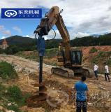 挖机钻孔旋挖钻头 500直径钻杆螺旋钻机头