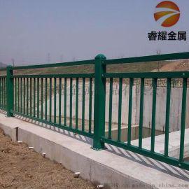 河道护栏喷塑镀锌桥梁护栏厂家