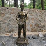 九江玻璃鋼仿銅雕像 歷史人物雕塑