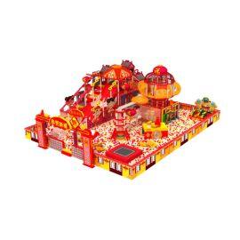 定制原創設計中國風室內兒童樂園淘氣堡遊樂設備廠家