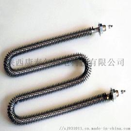 定制不锈钢翅片加热管散热型电热管干烧空气翅片散热管