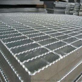 北京钢格栅板-齿形防滑钢格栅板-晨川镀锌钢格板