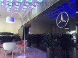 奔驰4S店黑色铝单板【合作伙伴】外墙2.0厚铝单板