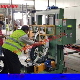 博尔顿直销立式缠绕机 胶管缠绕机 钢丝缠绕机