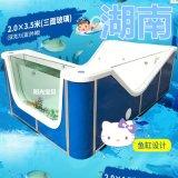 嬰兒游泳池安裝 嬰兒游泳館設備 雙層保溫游泳池