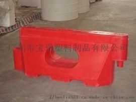 交通防撞单孔水马 隔离墩 防撞桶 塑料水马