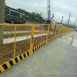工地塔吊围栏 菱形美格网塔吊口临边护栏网