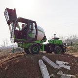自上料攪拌車 自卸混凝土攪拌車 4105增壓發動機
