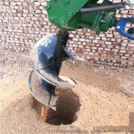 植树种树挖坑机 拖拉机带地钻机 树窝机