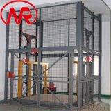 二层电动厂房工业货梯 导轨式升降机 货运升降平台