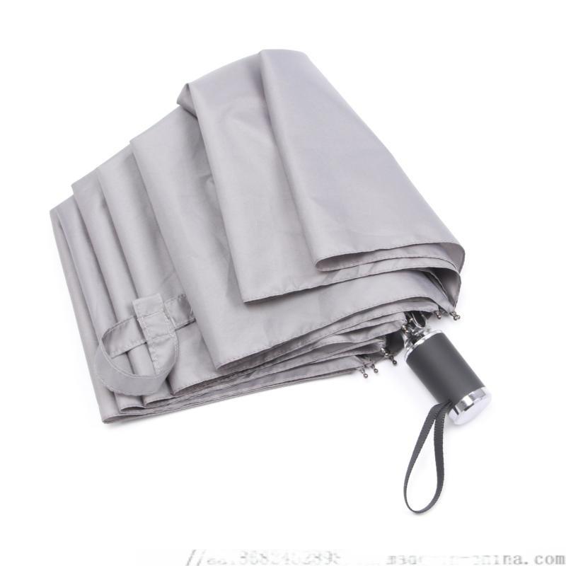 公司礼品广告雨伞,防紫外线手开三折伞,遮阳伞