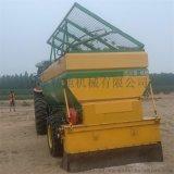 石灰撒布机 大容量牵引撒布机 路面施工白灰撒布机