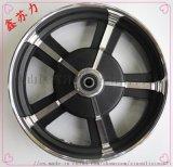 铝合金铁轮毂 电动车轮毂10寸1.75宽鼓刹轮毂