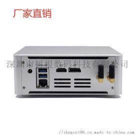 迷你电脑主机i5 i7嵌入式工控机微型家用小主机