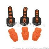 廠家生產機械手套TPR防撞塊定製膠章軟膠手套標