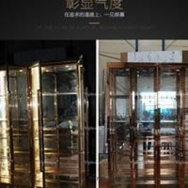 不鏽鋼玻璃紅酒櫃定制
