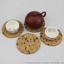 免费拿样环保软木杯垫方形 简约软木杯垫餐垫锅垫定制