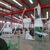 山东饲料加工设备厂家成套250型号颗粒机组