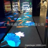 室内LED互动感应地砖屏