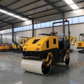 单轮小型地面压路机 手扶式压路机 800单钢轮压路机