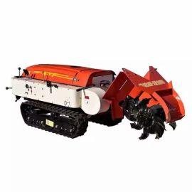 沃特机械 小型多功能田园管理机 自走式果园微耕机