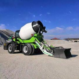 山东沃特 全自动上料搅拌车 混凝土搅拌运输车