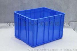 组立式物料收纳盒 斜口元件盒货架仓库物料零件盒