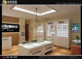 眼镜柜台定制制作,眼镜展柜设计。